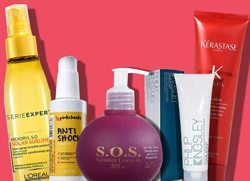 imagem de protetor solar para cabelo