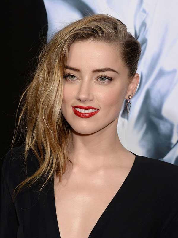 cabelo Amber Heard