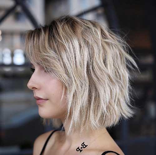 cabelo com ondas estilo messy