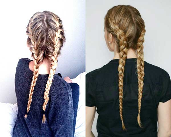 Quais cabelos combinam com a trança boxeadora?