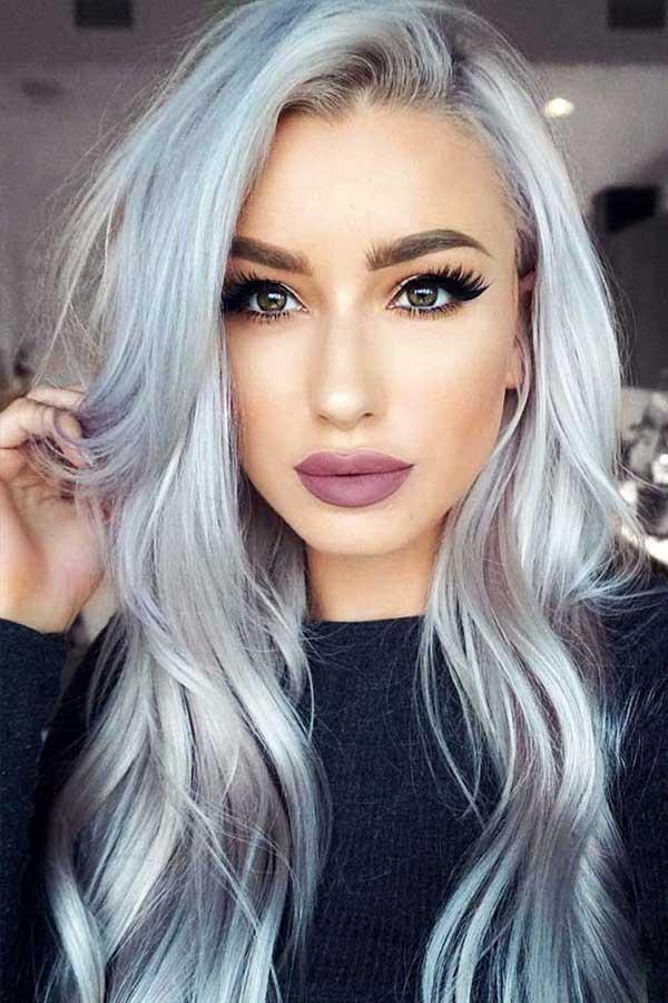 cabelo todo cinza em morena - linda demais