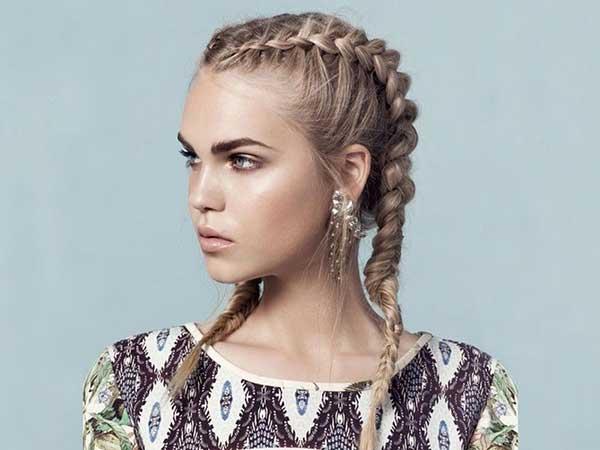 Uma das tendências mais recentes de penteados!