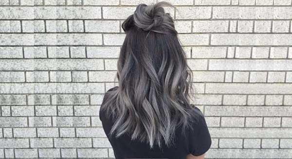 granny hair serve como ombré hair