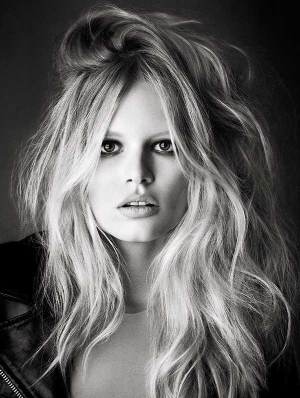penteado messy hoje, imitando Brigitte Bardot