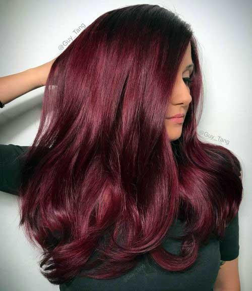 tonalidade avermelhada