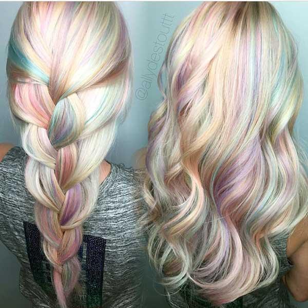 opal hair com loiro como base
