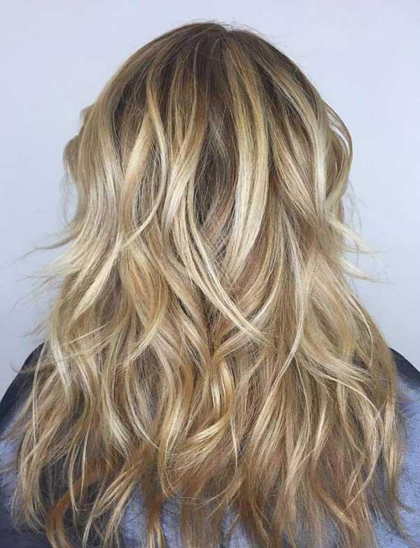 hair strobing em fios loiros