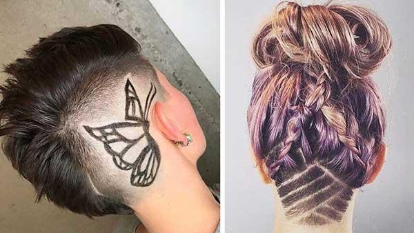 Hair Tattoo 29 Estilos Mais Lindos Masculino E Feminino