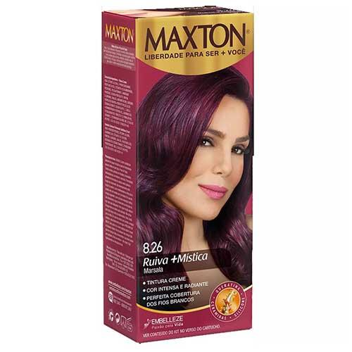 tintura marsala Maxton - é boa mesmo!