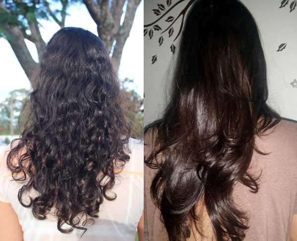 resultados da guanidina no cabelo - alisa e relaxa os fios